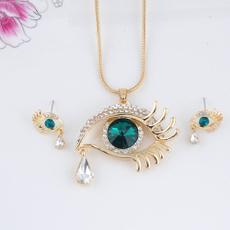 Necklace, earringandnecklaceset, Fashion, eye
