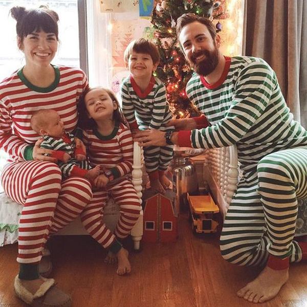 christmasfamilyclothe, christmassantapajamasshirt, Christmas, Family