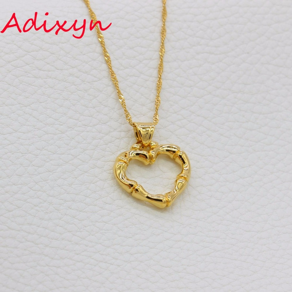 goldplated, Heart, Jewelry, Gifts