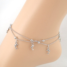 Sandals, Anklets, dolphin, Bracelet