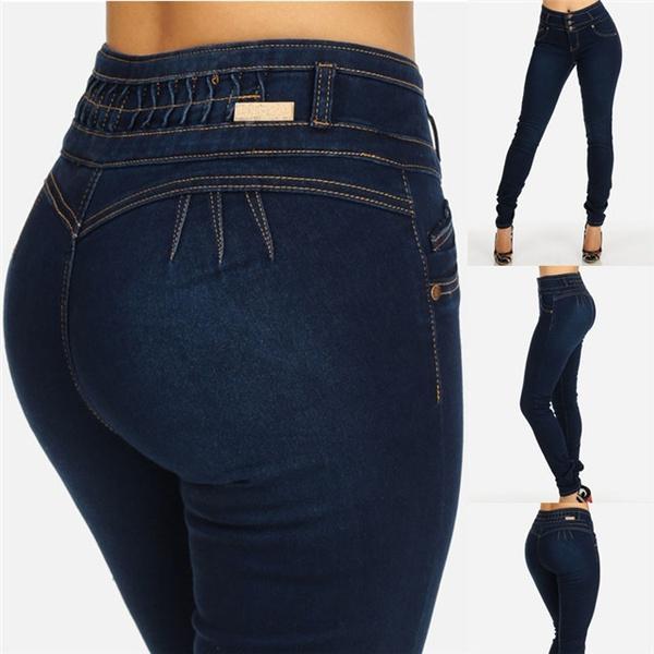 Blues, Dark, Fashion, JeansWomen