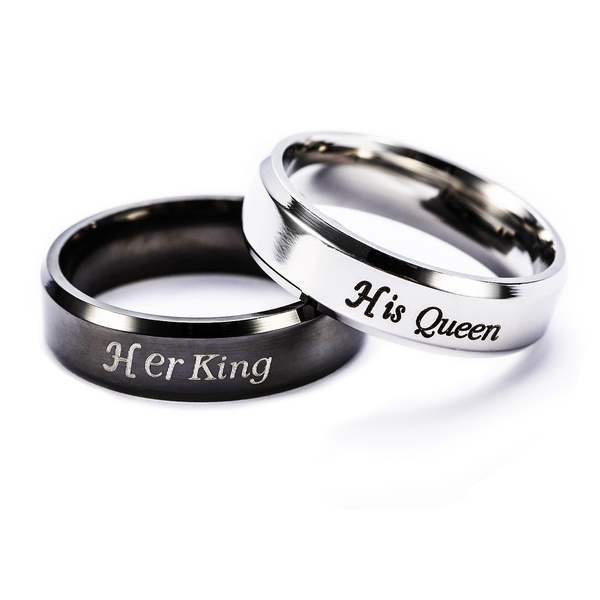 Couple Rings, King, Fashion, Jewelry