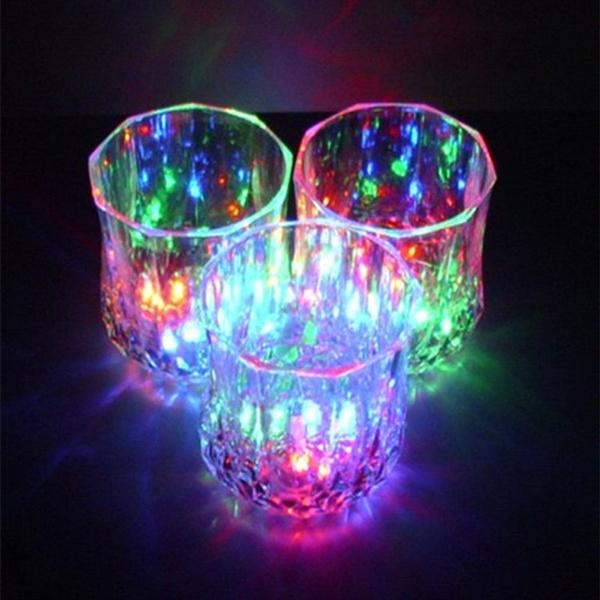 champagne, led, liquid, lights
