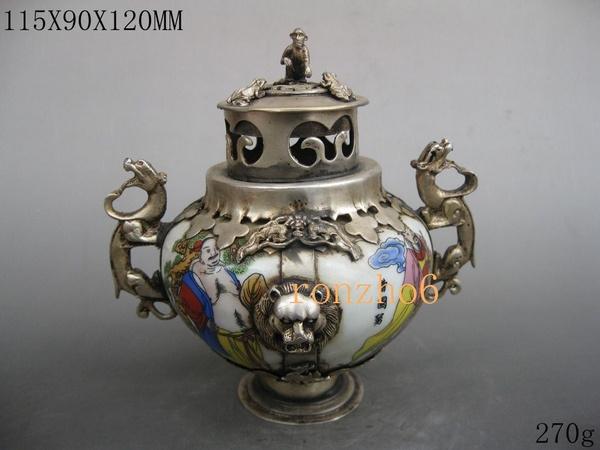 Life, Jewelry, tibetan, Porcelain