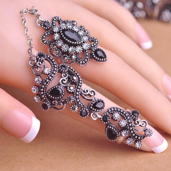 adjustablering, Fashion, wedding ring, gold