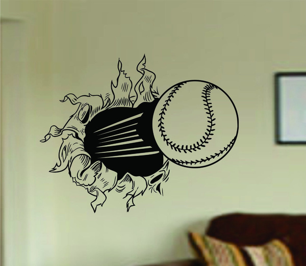 kids, Baseball & Softball, vinyldecalsticker, Wall Decals & Stickers