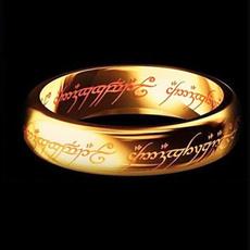Couple Rings, Steel, lotr, wedding ring
