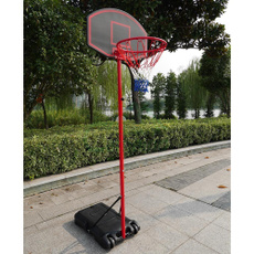 metalwallmountedhangingbasketballrim, Outdoor, Sports & Outdoors, basketballgoalhoopset