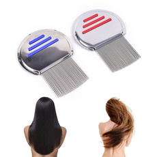 Steel, hair, licecomb, Stainless