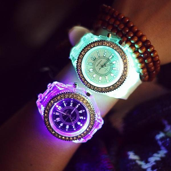 Chronograph, womenmenwatch, Fashion, led