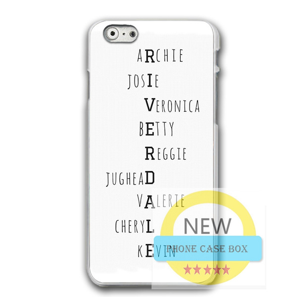 Personalized Riverdale Archie Phone Case For Iphone 6 6s 7 7plus For Iphone XR Samsung Huawei Hard Plastic Phone Protective Case | Wish