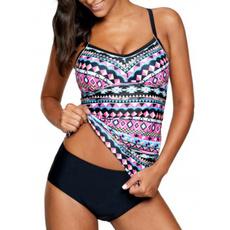 bathing suit, two piece swimsuit, bikini set, Beach