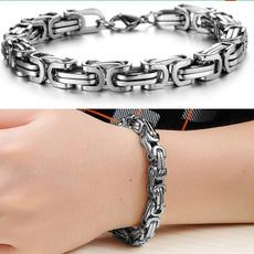Steel, 8MM, Men, Jewelry