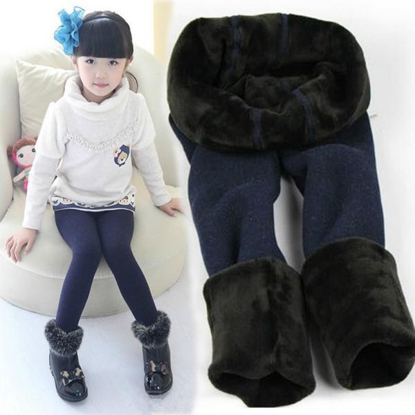 Leggings, Warm Leggings, Winter, kidstrouser