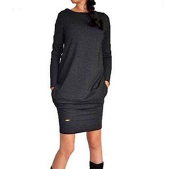 Women, Fashion, sweater dress, Office