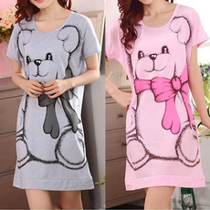 cute, Nightgown, Summer, Dress