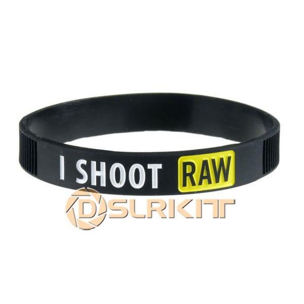 shoot, raw, Wristbands, Silicone