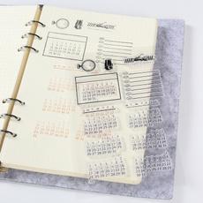 Rubber, planner, scrapbookingstamp, Clock