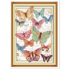 countedcrossstitchembroidery, dmc, Butterflies, joysundaycrossstitch