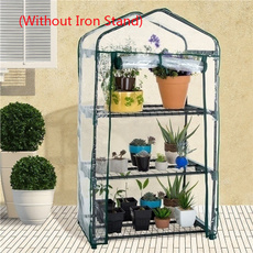 Mini, flowersampplant, tieredgardenplanter, greenhousecover