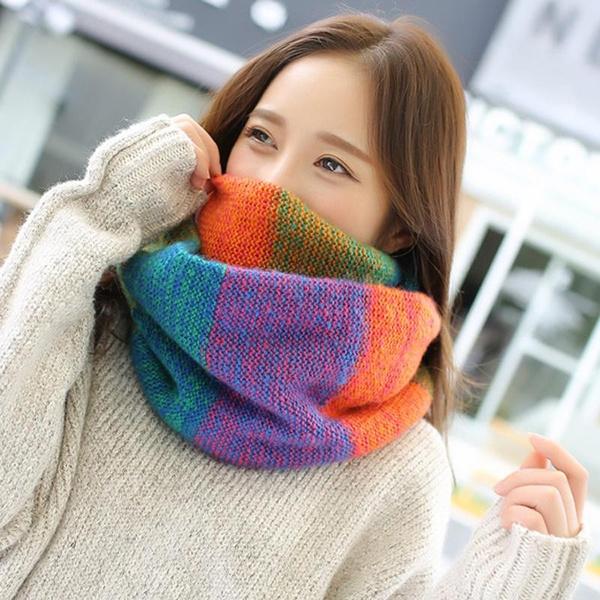 woolen, rainbow, Fashion, Necks