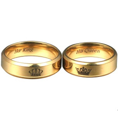 Couple Rings, King, Queen, Gifts