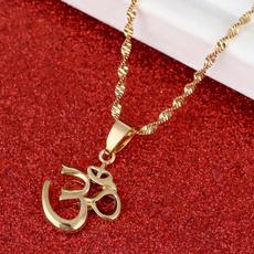 yoganecklacependan, ohm, hinduismjewelry, Outdoor