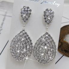 Hoop Earring, Dangle Earring, Jewelry, Sterling Silver Earrings
