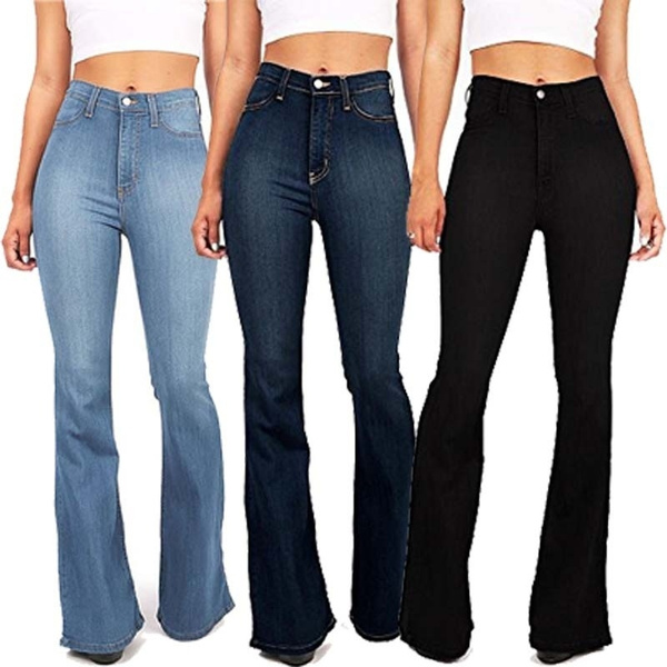 Jeans, high waist, pants, Denim