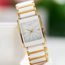 simplewatch, ceramicstrapwatch, DIAMOND, Jewelry