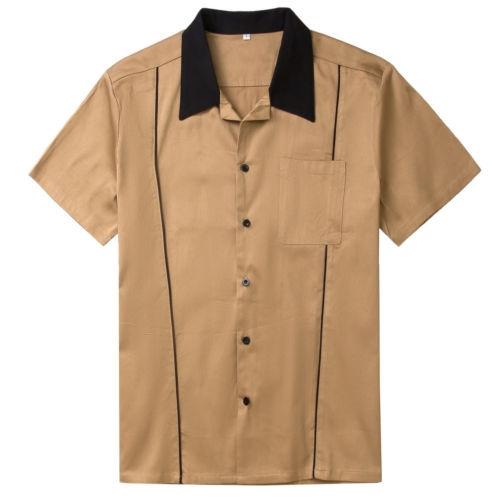Vintage, Men, causalshirt, coffeeshirt