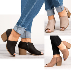ankle boots, Fashion, Spring, women shoes