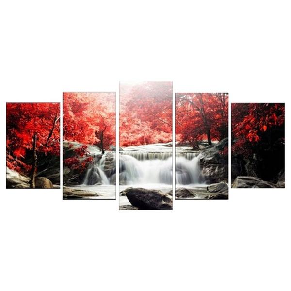 NO FRAME LAMBORGHINI AVENTADOR SILVER Cars Large Wall Art Canvas AU482 MATAGA