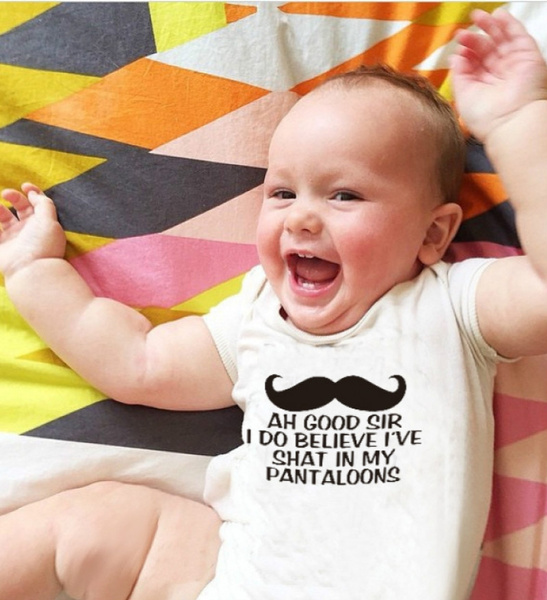 Baby, Summer, Cotton, letter print