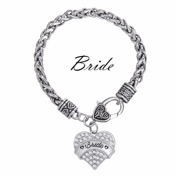 Charm Bracelet, charmsampcharmbracelet, Heart Shape, pendantbracelet