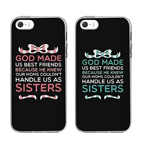 NEW IPHONE SE BFF CASE, Cute BFF Phone Cases - God Made Us Best Friends Phone Covers for iphone 5s, iphone 5.birthday gift, best friends gift. | Wish