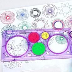 Materiales de arte, paintingtemplate, puzzleruler, ruler