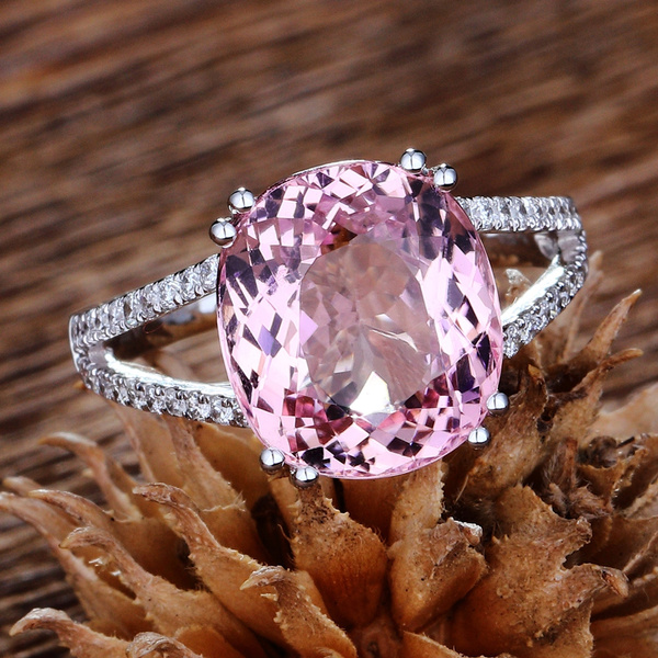 pink, DIAMOND, 925 sterling silver, Jewelry