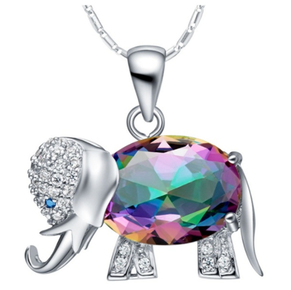 Sterling, DIAMOND, Jewelry, Colorful