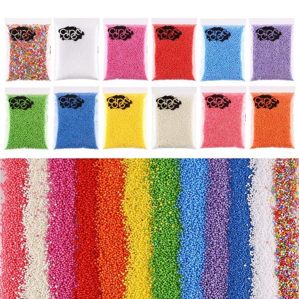 Colorful, Foam, slime, decoration