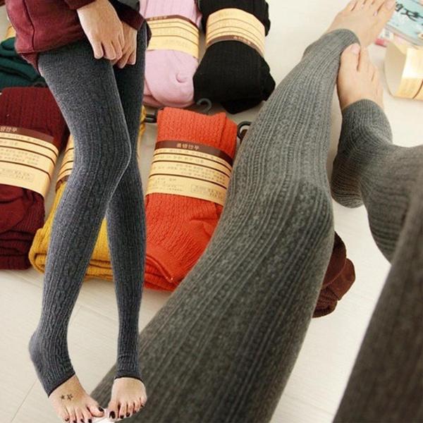 Women Pants, Leggings, Fashion, Winter