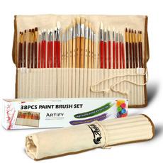 paintbrushset, art, artist, Pouch