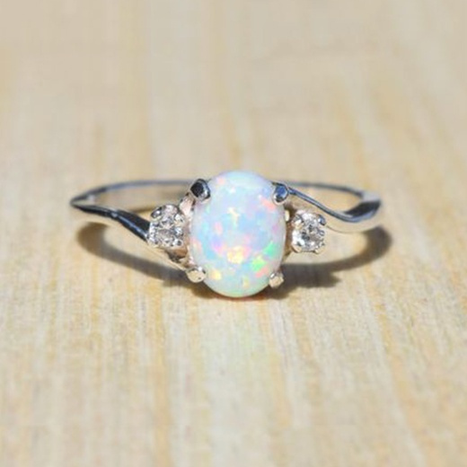 Sterling, DIAMOND, 925 sterling silver, Engagement Ring