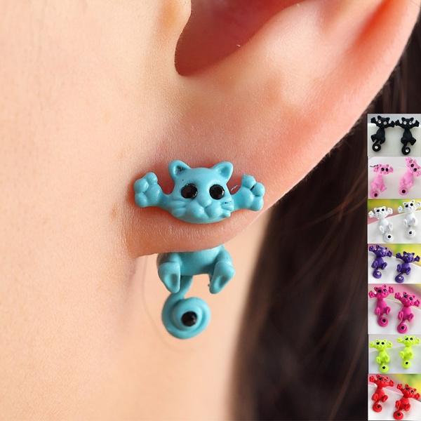 Dangle Earring, Animal, Stud Earring, animalearring