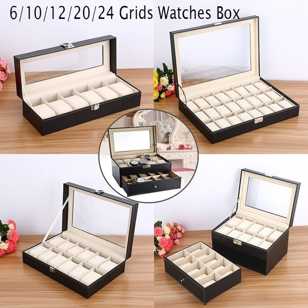 Storage Box, watchstorage, leather, jewelrycollection