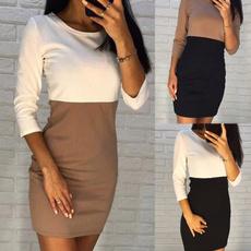 Mini, womens dresses, tunic, Sleeve