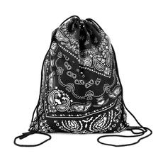 Escuela, drawstring backpack, hakunamatatageometricbag, 3dprintingbag