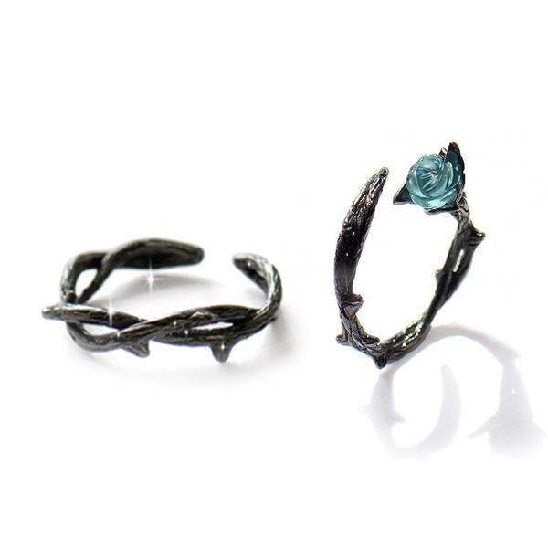 quartzcrystal, Jewelry, Cheap Rings, retro ring