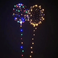 led, Christmas, lights, Balloon