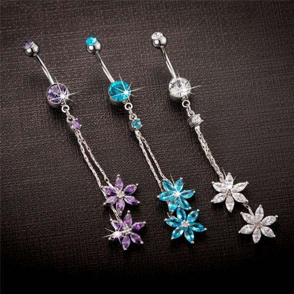 Steel, Tassels, navel rings, Jewelry